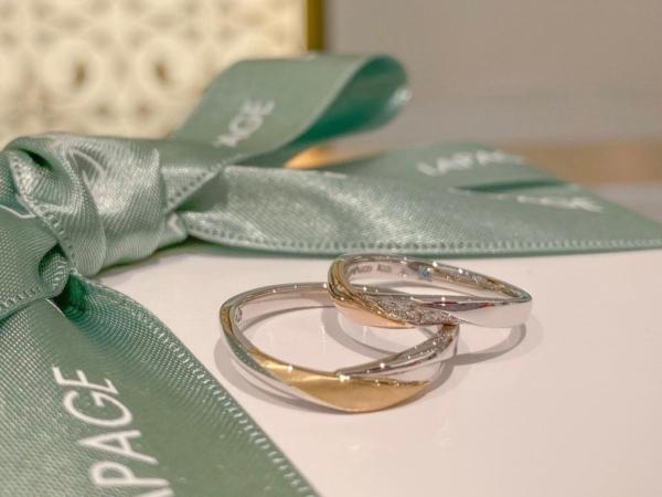【和歌山】Lapageの結婚指輪