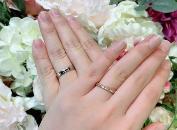 【大阪】FISCHERとYUKAHOJOの結婚指輪