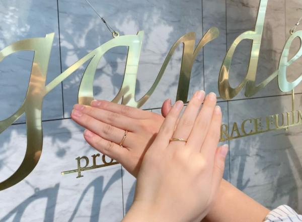 【奈良】ORECCHIOの結婚指輪