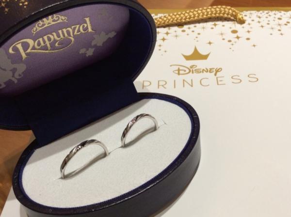 【和歌山】Rapunzelの結婚指輪