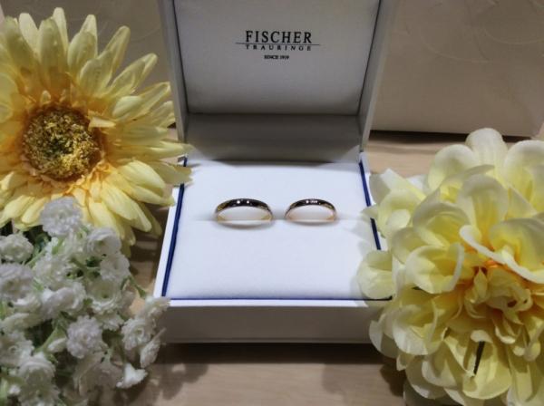 【滋賀】FISCHERの結婚指輪