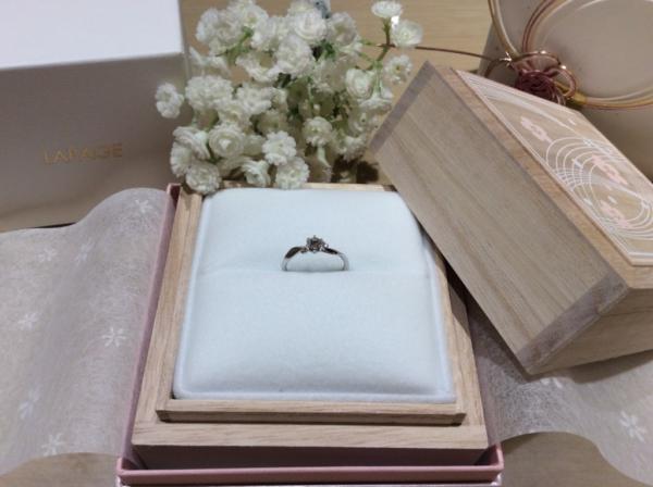 【大阪】Lapageの婚約指輪