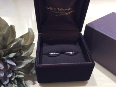 【大阪】Gabi Tolkowskyの結婚指輪