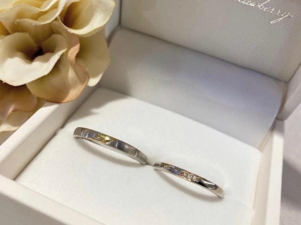【大阪】Milk & Strawberryの結婚指輪