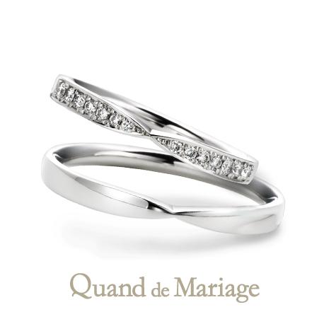 クアンドゥマリアージュの結婚指輪 ラタシェ