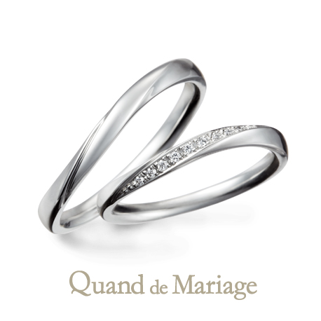 クアンドゥマリアージュの結婚指輪 トゥジュールアンサンブル