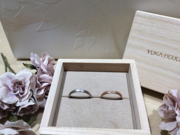 【大阪】YUKAHOJOの結婚指輪