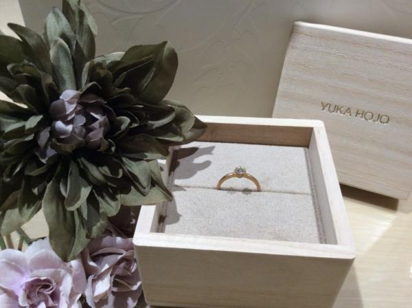【和歌山】YUKAHOJOの婚約指輪