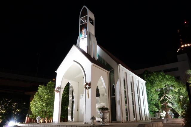 神戸のプロポーズスポット 神戸セントモルガン教会
