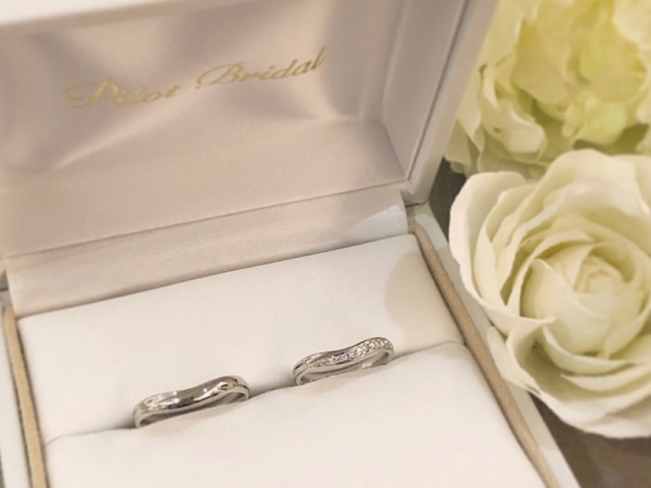 【和歌山】Pilot Bridalの結婚指輪