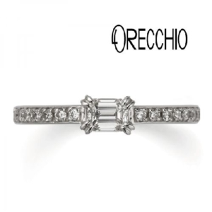 オレッキオの婚約指輪のgarden心斎橋