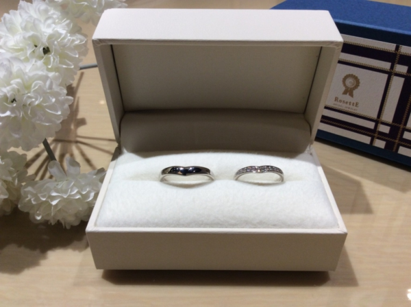 【大阪】RosettEの結婚指輪