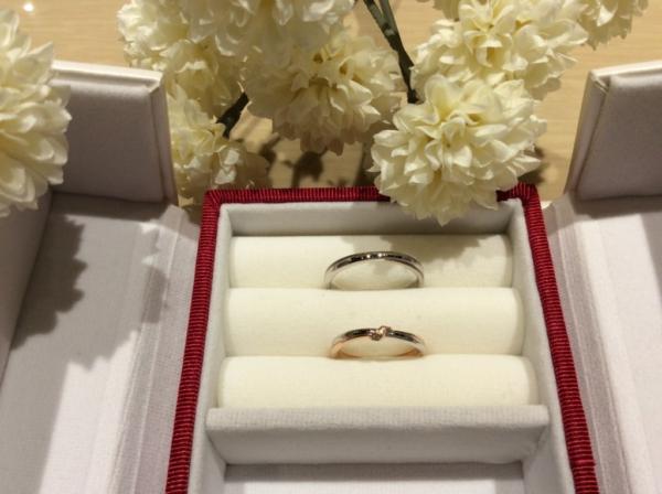 ひなの和風の結婚指輪のgarden心斎橋