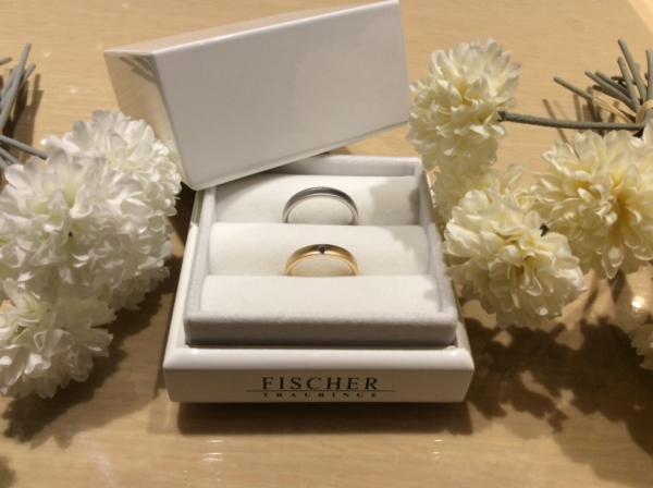 FISCHER(フィッシャー)の結婚指輪のgarden心斎橋