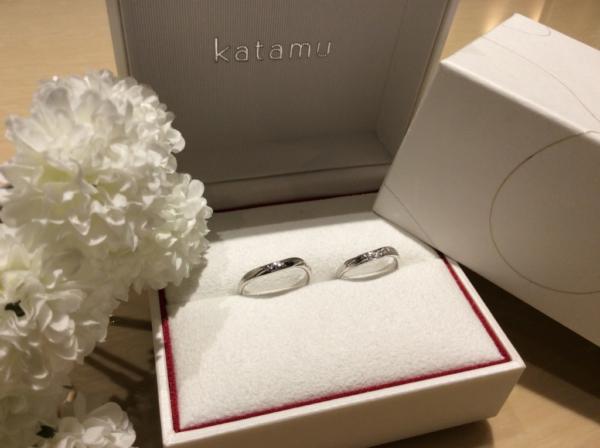 Katamu(カタム)の結婚指輪のgarden心斎橋