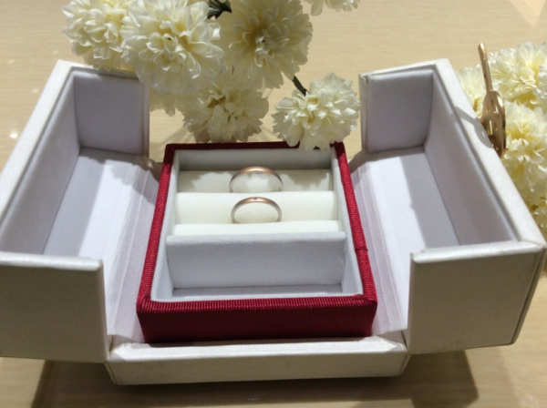 【京都】ひなの結婚指輪