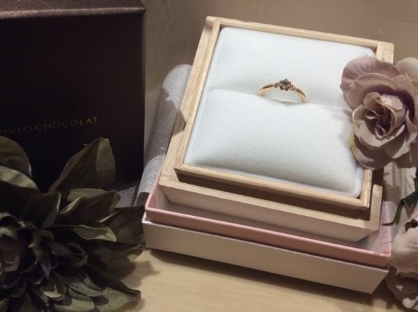 【大阪】PAVEO CHOCOLATの婚約指輪
