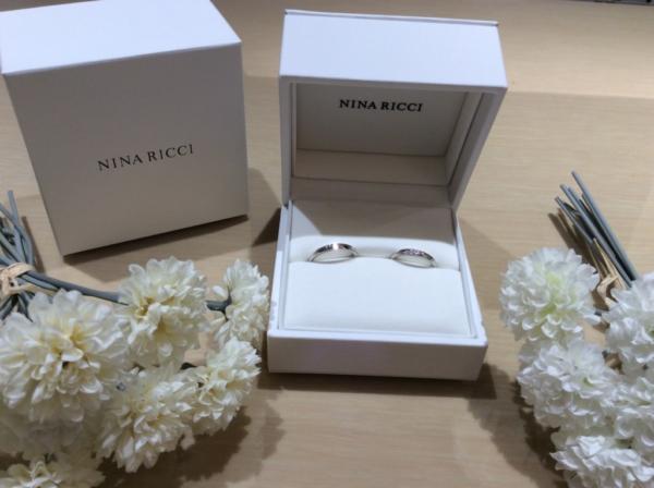 ニナリッチ(NINA RICCI)の結婚指輪のgarden心斎橋