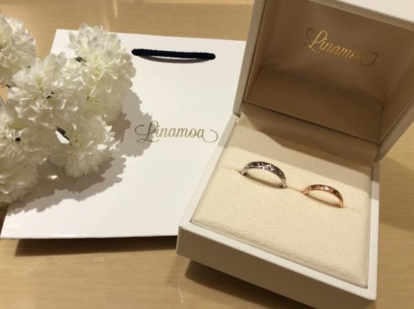 【大阪】Linamoaの結婚指輪