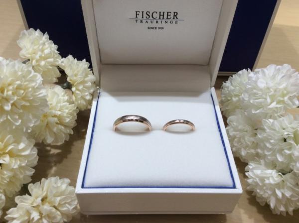 【京都】FISCHERの結婚指輪