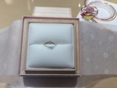 【大阪】Lapageの婚約指輪のgarden心斎橋