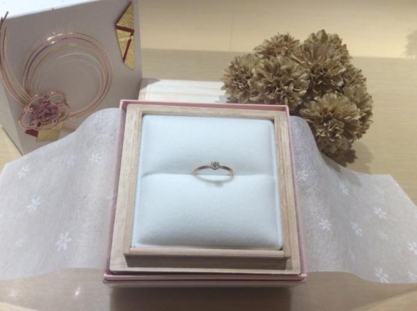 CHER LUV(シェールラブ)の婚約指輪のgarden心斎橋