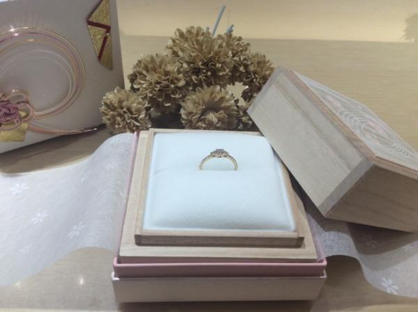 【兵庫】YUKA HOJOの婚約指輪