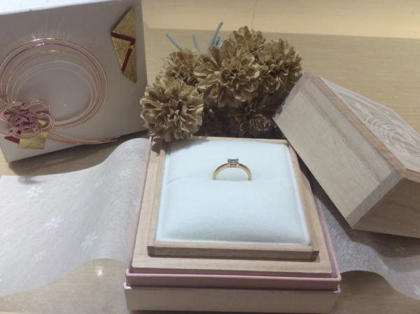 【大阪】ORECCHIOの婚約指輪