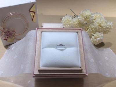 【大阪】Milk & Strawberryの婚約指輪