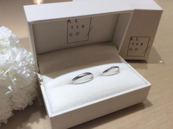 【大阪】ALTERGOの結婚指輪