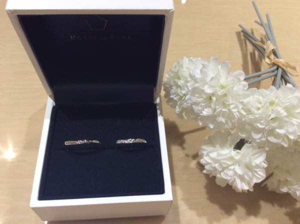 【大阪】星の砂の結婚指輪