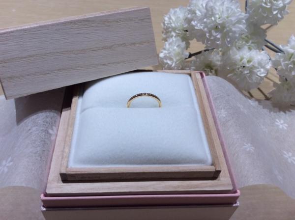 【京都】GRACE KAMAの婚約指輪