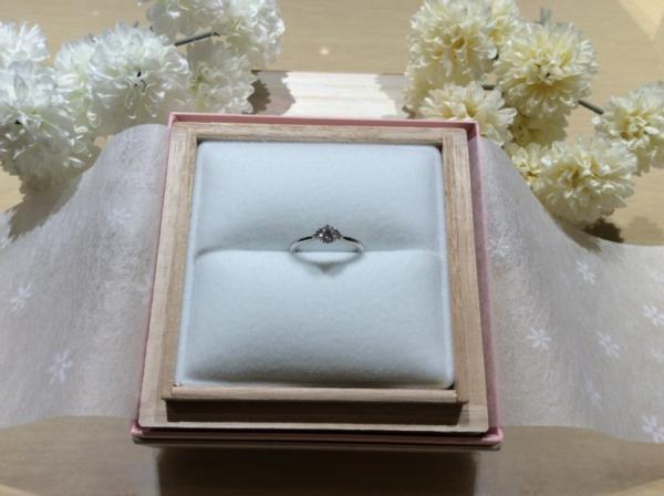 et.lu(エトル)の婚約指輪のgarden心斎橋1