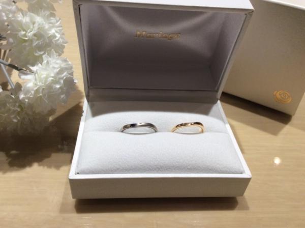 Mariage ent(マリアージュ)の結婚指輪のgarden心斎橋