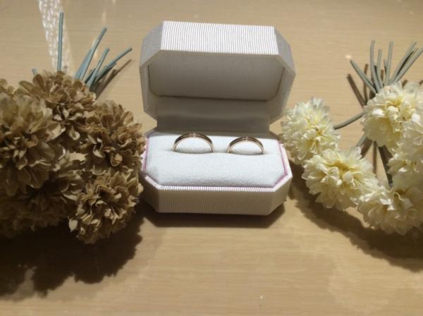 Honey Bride(ハニーブライド)の結婚指輪のgarden心斎橋