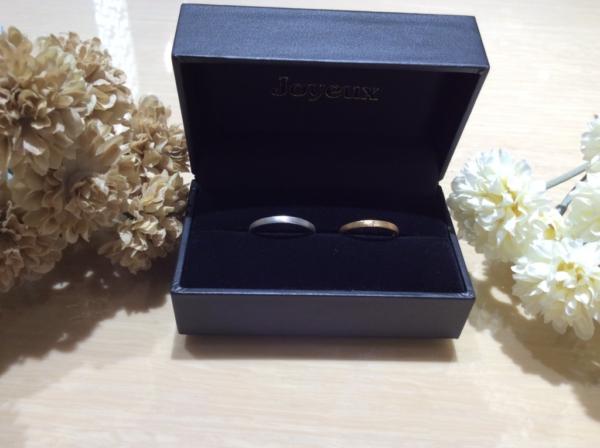 【大阪】Joyeuxの結婚指輪