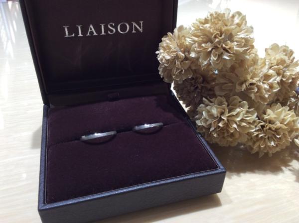 【大阪】LIAISONの結婚指輪