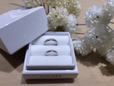 【奈良】FISCHERの結婚指輪
