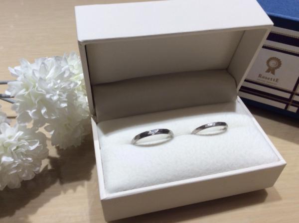 RosettE SP(ロゼット)の鍛造の結婚指輪のgarden心斎橋