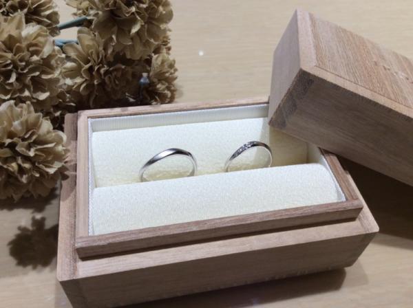 輝彩の結婚指輪のgarden心斎橋