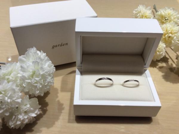 いい夫婦の結婚指輪のgarden心斎橋