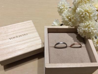 【和歌山】YUKA HOJOの結婚指輪