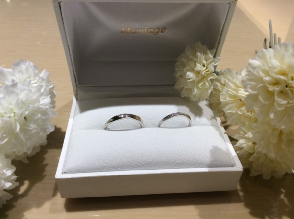 【奈良】Quand de Mariageの結婚指輪