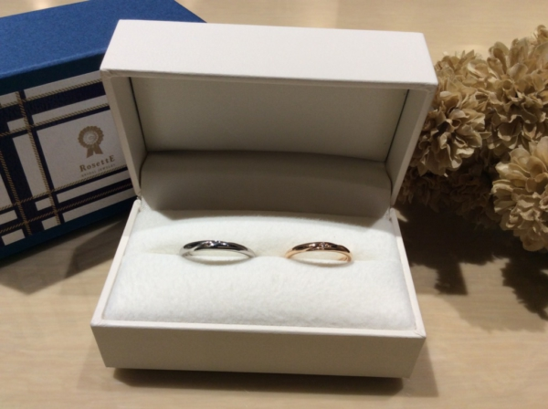 【奈良】RosettEの結婚指輪