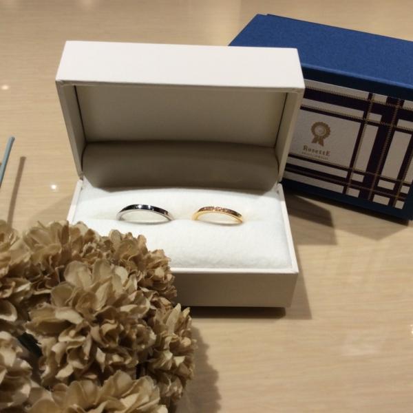 【和歌山】RosettEの結婚指輪
