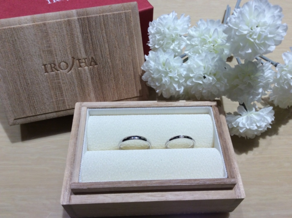 【大阪】彩乃瑞の結婚指輪