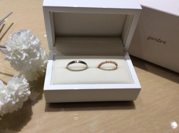 【大阪】GRAMAの結婚指輪