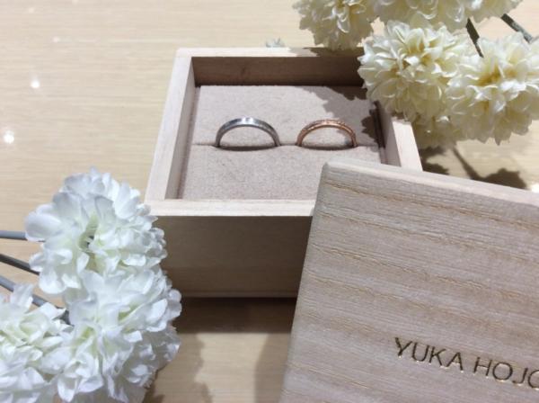 YUKA HOJO(ユカホウジョウ)の結婚指輪のgarden心斎橋