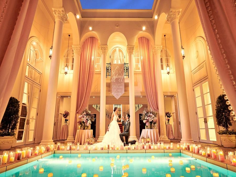 大阪・心斎橋でおすすめの結婚式場でアーフェリーク迎賓館