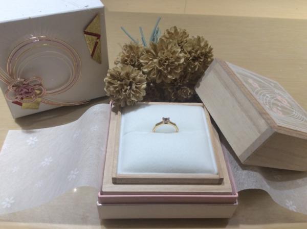 ORECCHIO(オレッキオ)の婚約指輪
